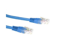 ACT U/UTP 0.50 meter CAT6 patchkabel blauw