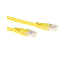 ACT U/UTP 0.50 meter CAT6 patchkabel geel