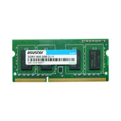 ASUSTOR 2GB DDR3-1600 204Pin SO-DIMM RAM Module