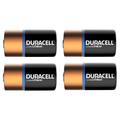 Duracell 123 Ultra Lithium battery CR17345 - Arlo Camera (set of 4)