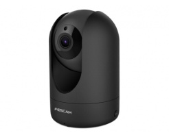 Foscam R2M Smart 2MP Pan-Tilt Camera (Black)