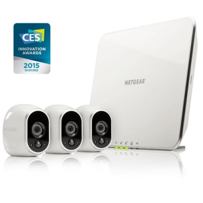 Netgear Arlo VMS3330 Video Surveillance (3 x Camera)