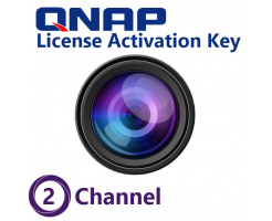 QNAP 2 Channel License Activation Key