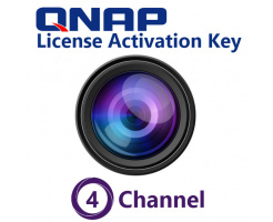 QNAP 4 Channel License Activation Key