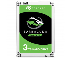 3TB Seagate Guardian BarraCuda HDD ST3000LM024