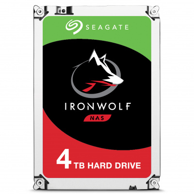 4TB Seagate Guardian IronWolf NAS ST4000VN008