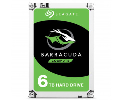6TB Seagate Guardian BarraCuda 3,5 inch HDD ST6000DM003