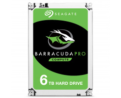 6TB Seagate Guardian BarraCuda Pro HDD ST6000DM004