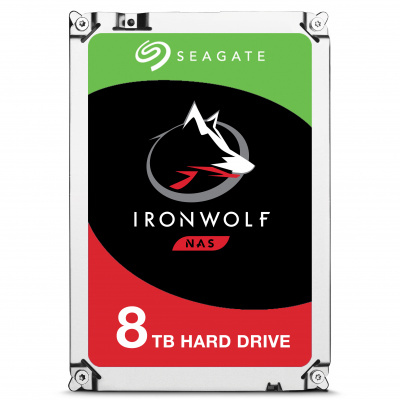 8TB Seagate Guardian IronWolf NAS 3,5 inch ST8000VN004