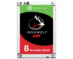 8TB Seagate Guardian IronWolf NAS ST8000VN0022