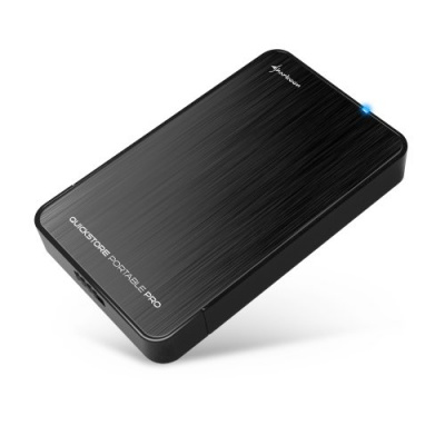 Sharkoon Quickstore Portable Pro USB3.0 Zwart