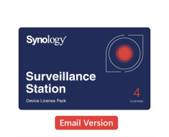 Synology Device License Pack x 4 (e-mail versie)