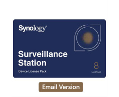 Synology Device License Pack x 8 (e-mail versie)
