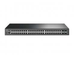 TP-LINK JetStream 48-Port Gigabit L2 Managed Switch T2600G-52TS (TL-SG3452)