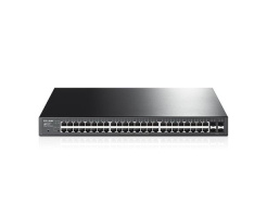 TP-LINK JetStream T1600G-52PS 48-Port Gigabit Smart PoE+ Switch with 4 SFP Slots