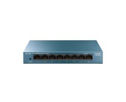 TP-LINK LiteWave 8-Port Gigabit Desktop Switch LS108G