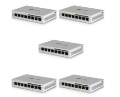 Ubiquiti UniFi Switch 8 Poort 60W 5-pack