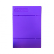 WarrantyCare 3,5 Harddisk Storage en Protection Box Paars