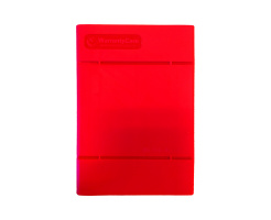WarrantyCare 3,5 Harddisk Storage en Protection Box Rood