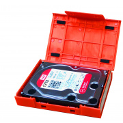 WarrantyCare 3,5 HDD Protection Box Red