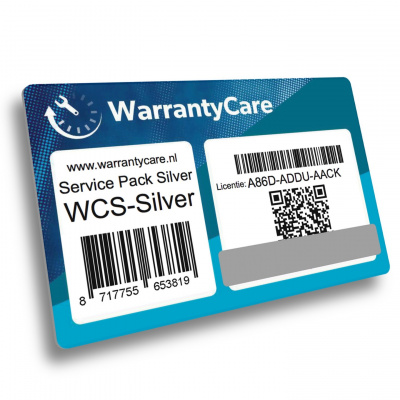 Warrantycare Service Pack A level Silver