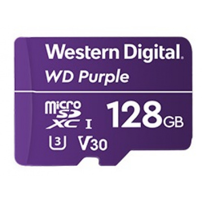 128GB Western Digital Purple Surveillance microSDXC