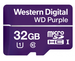 32GB Western Digitial Purple Surveillance microSDHC