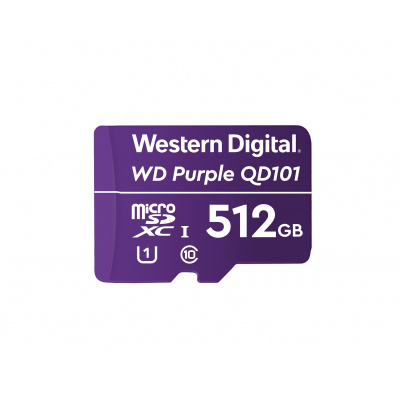 512GB Western Digital Purple Surveillance microSDXC