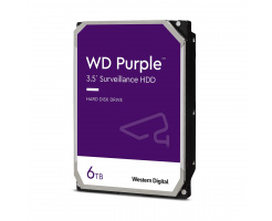 6TB Western Digital Purple HDD WD62PURZ