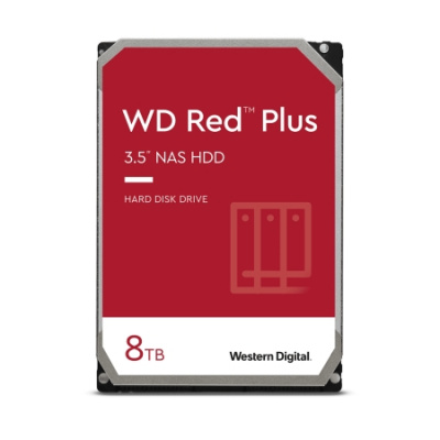 8TB WD RED Plus NAS HDD WD80EFAX