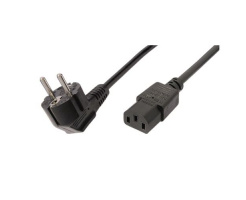 ACT 230V powercord schuko male (angled)