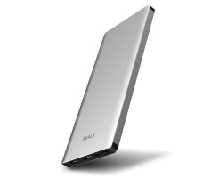 iWalk Chic 10000mAh Dual USB Powerbank Zilver