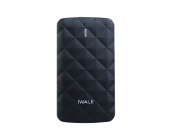 iWalk Duo 3000mAh Powerbank Black