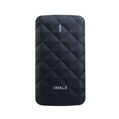 iWalk Duo 3000mAh Powerbank Zwart
