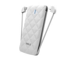 iWalk Duo 3000mAh Powerbank Wit