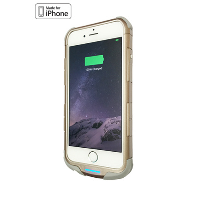 iWalk Chameleon Immortal 2400mAh iPhone 6(S) Power Case Gold, see our special offer down this page!