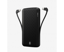 iWalk Scorpion 8000mAh Powerbank Zwart