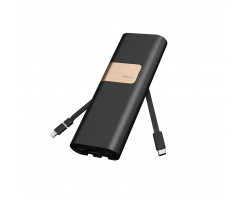 iWalk Secretary+ 20.000mAh powerbank Black