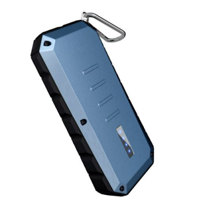 iWalk Spartan 13000mAh Water/Dirt/Shockproof Dual USB Powerbank Blueish Green